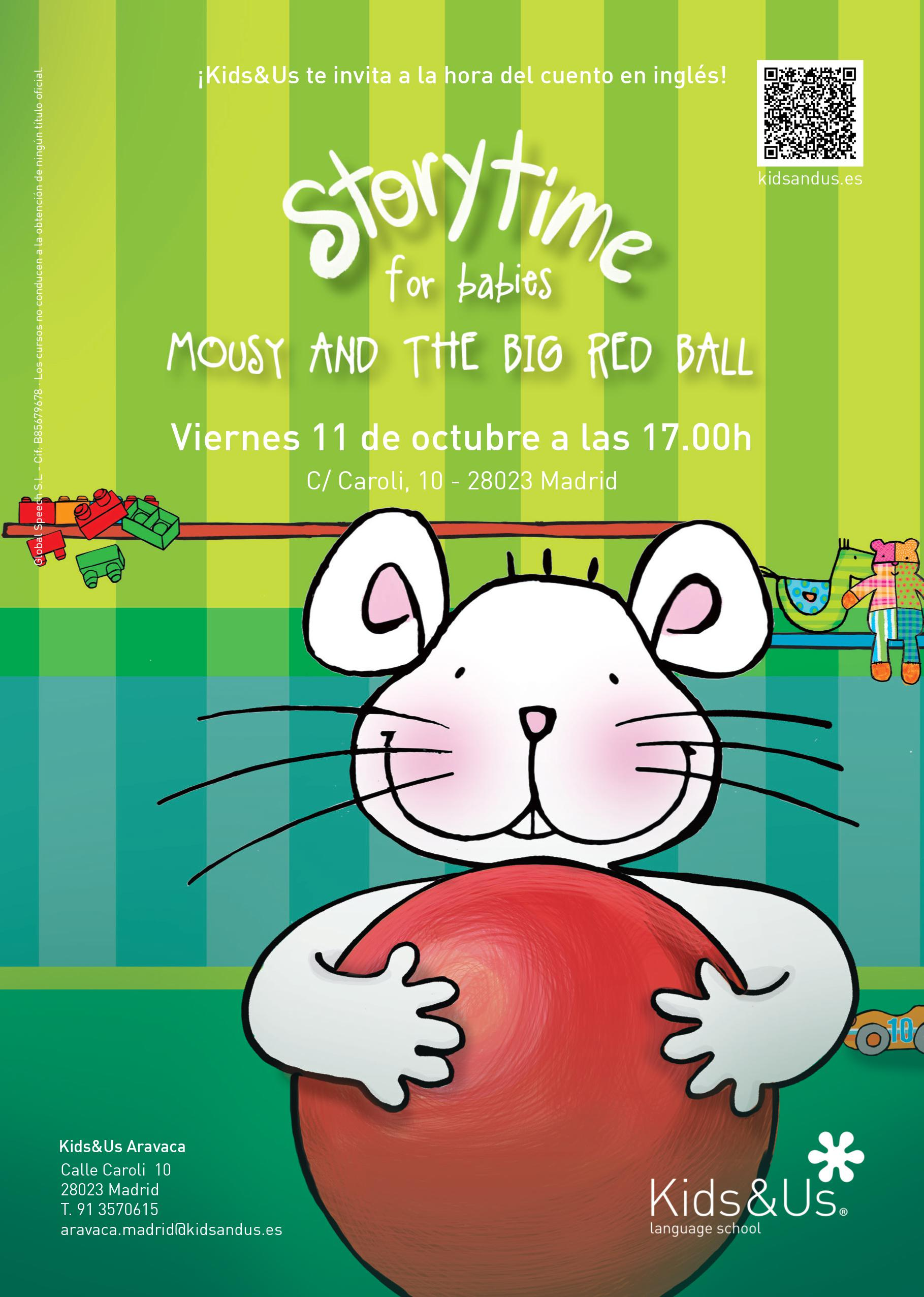 Storytime Babies: Mousy and the Big Red Ball